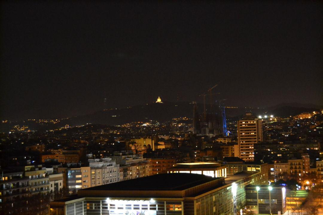 Ausblick von der Dachterrasse Residencia Melon District Marina