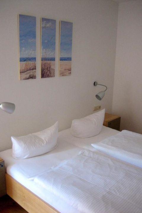 Appartement 2 (41qm) - Einblick ins Schlafzimmer Appartements Seehaus