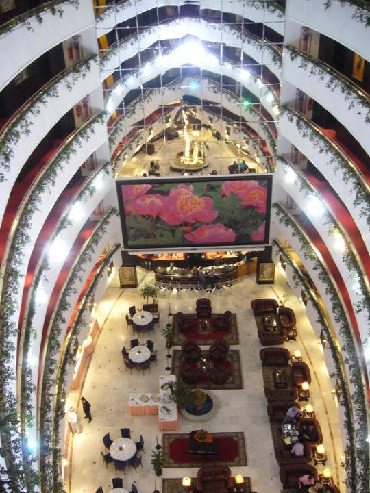 Die Halle von oben Hotel Rabat