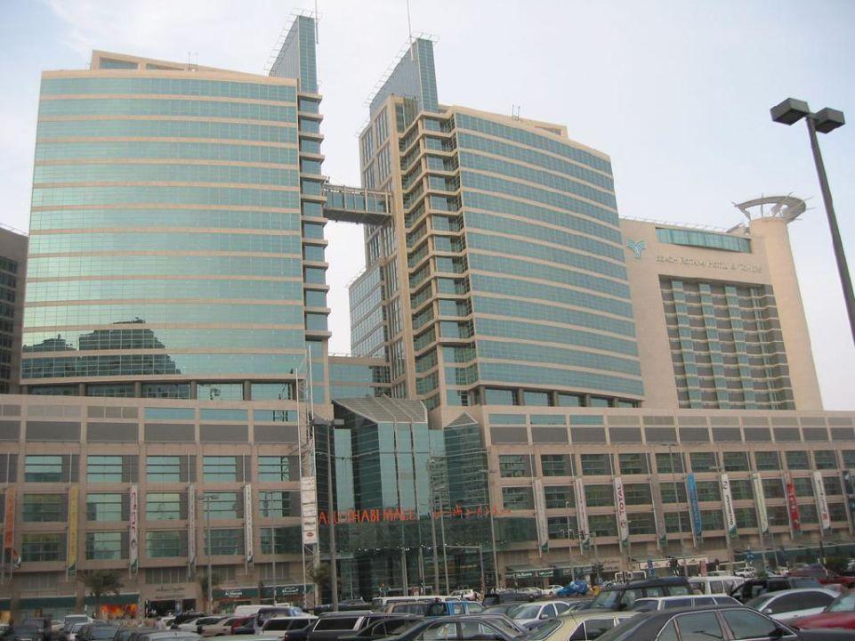 Hotel mit Abu Dhabi-Mall Hotel Beach Rotana