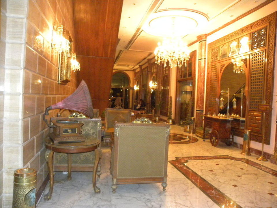 Lobby Hotel Om Kolthoom