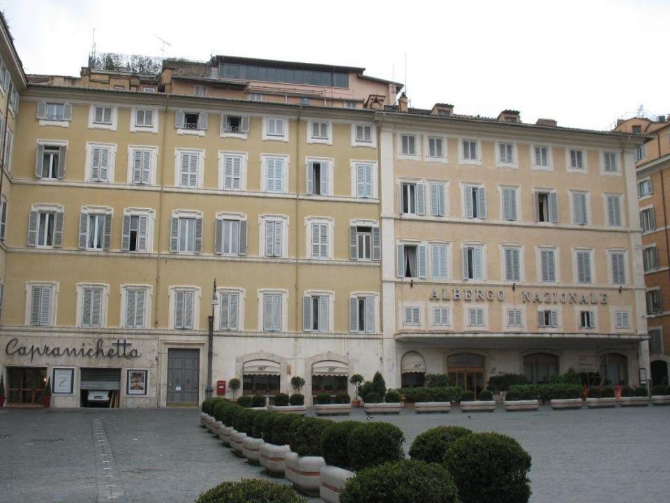 Blick auf das Hotel Hotel Nazionale