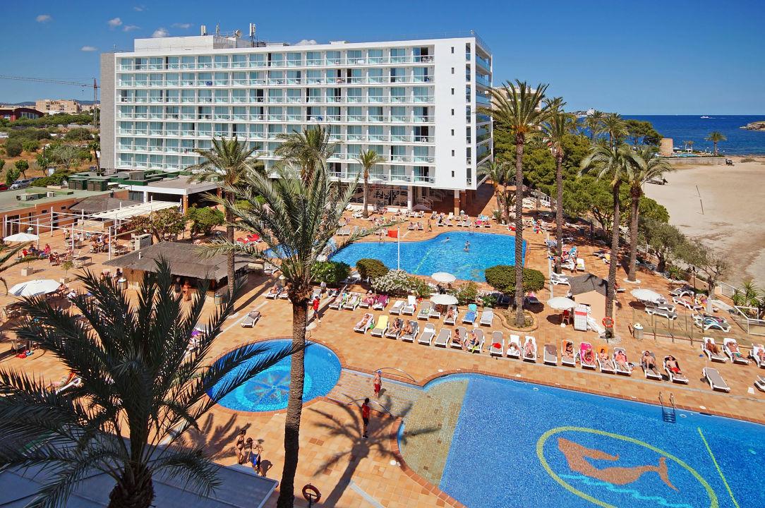 Aussicht Hotel & Strand Sirenis Hotel Goleta & Spa (Vorgänger-Hotel - existiert nicht mehr)