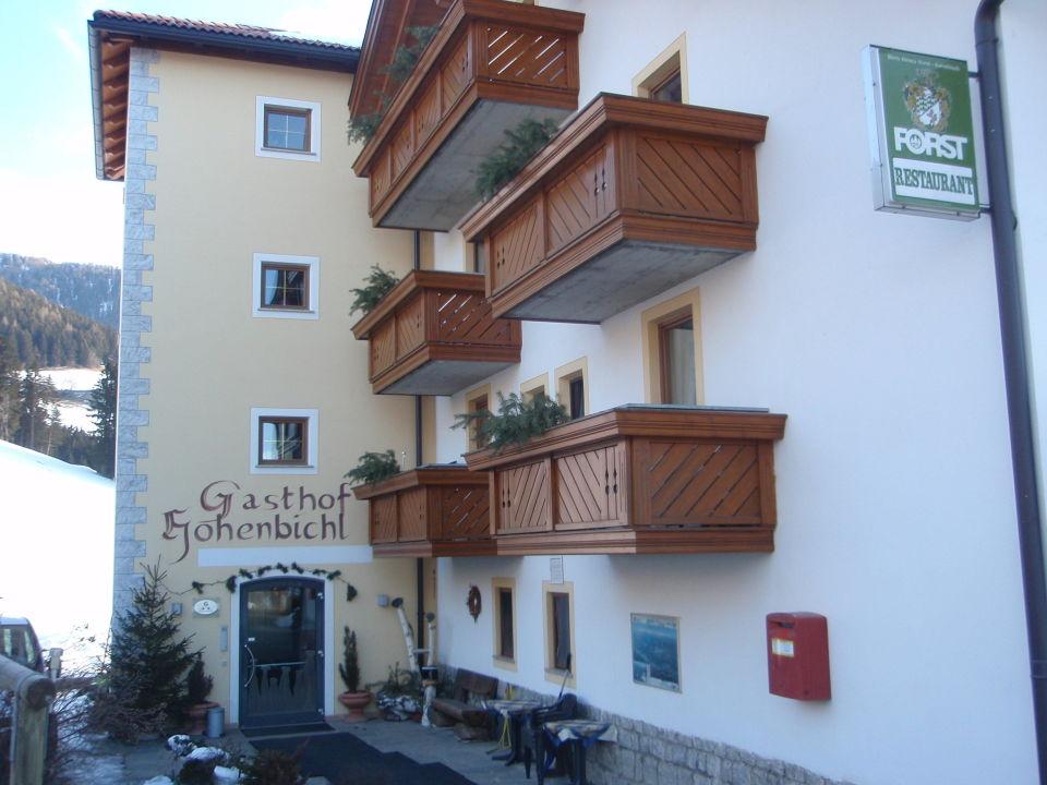 Aussenansicht des Gasthofs Hotel Hohenbichl