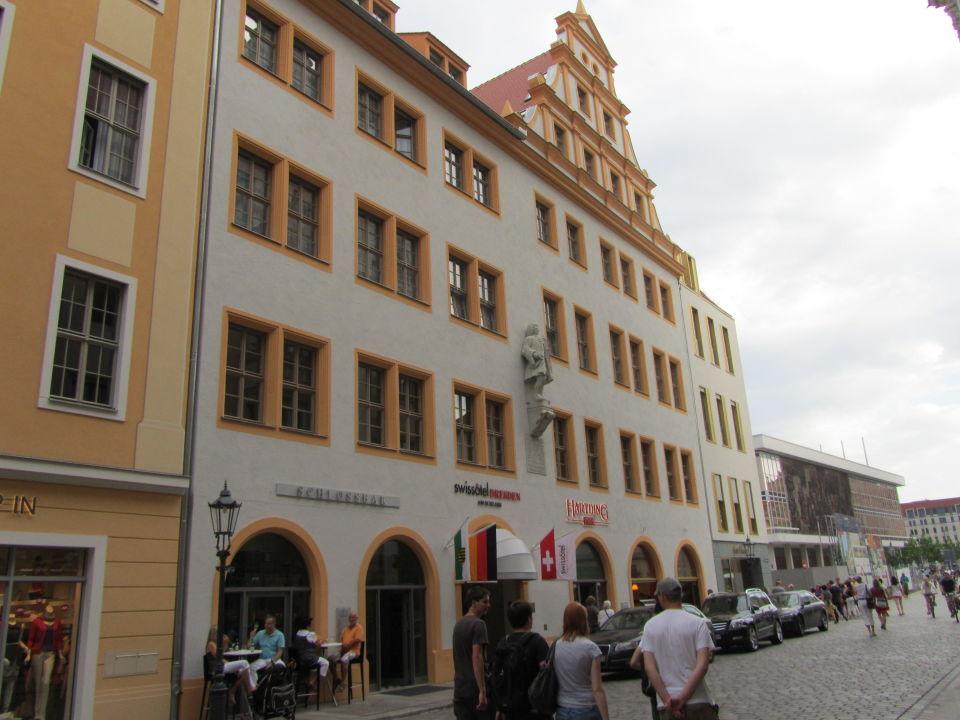 Außenansicht Hyperion Hotel Dresden Am Schloss Dresden