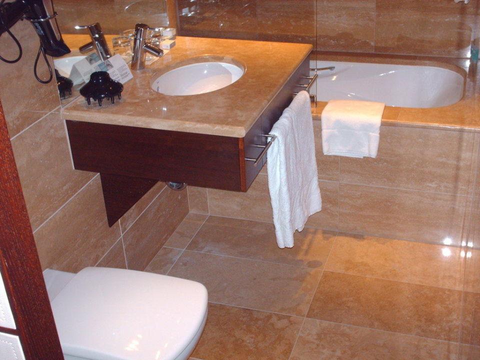 Badezimmer Hotel Eurostars Budapest Center