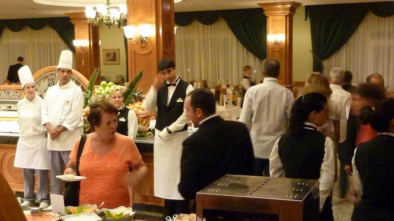 Eingang Restaurant Hotel Riu Palace Meloneras