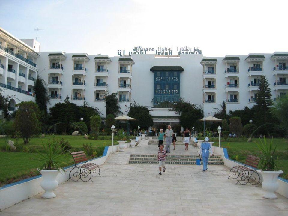 Gartenansicht Hotel Riviera
