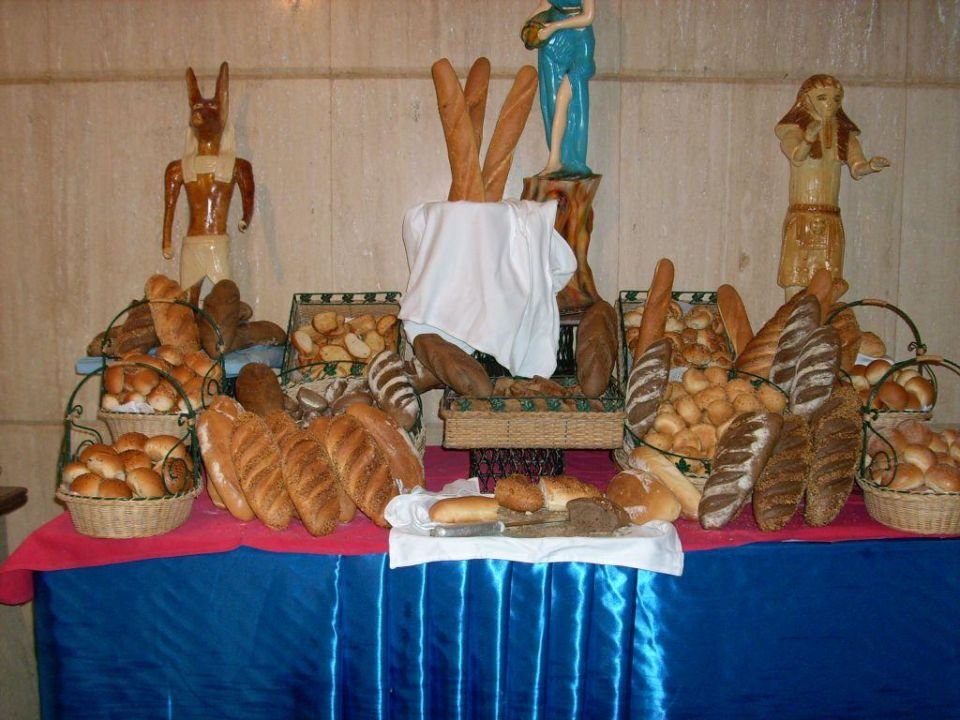 Brotbuffet Pharaoh Azur Resort