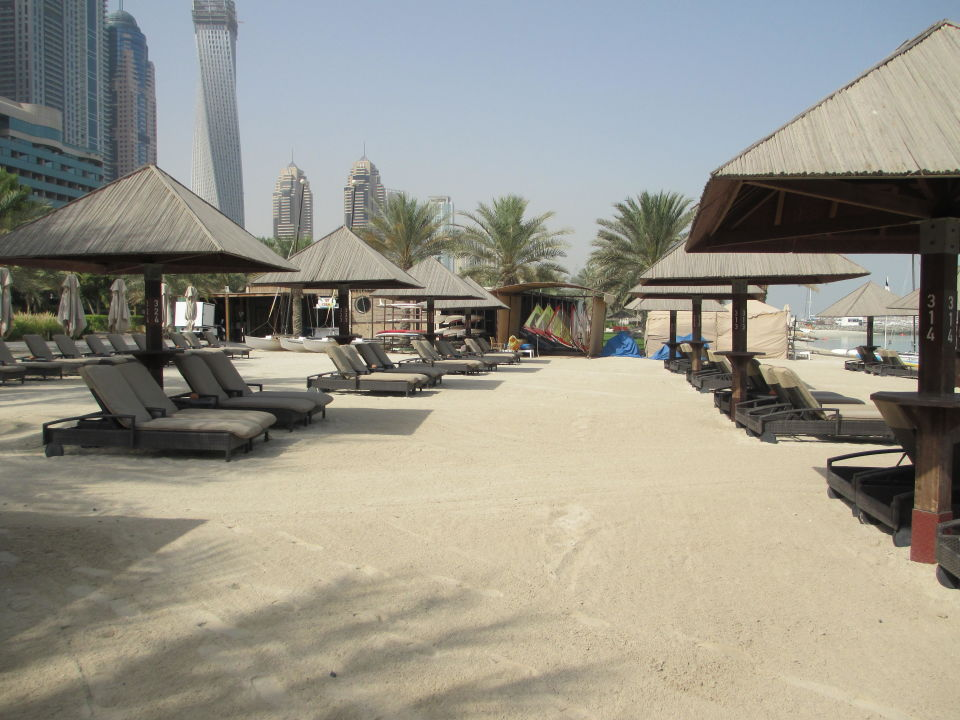 Ausblick vom Zimmer The Westin Dubai Mina Seyahi Beach Resort & Marina