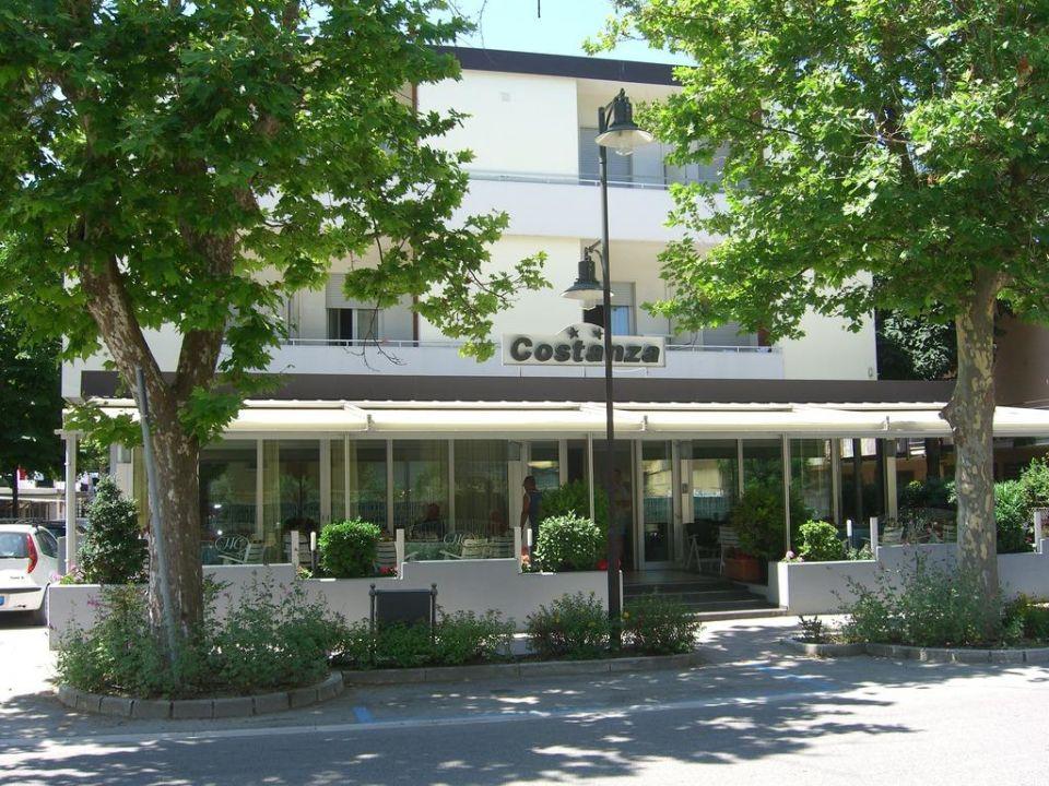Hausansicht Hotel Costanza