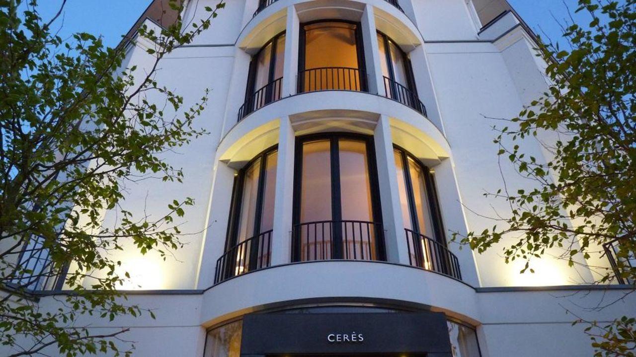 bild fr hst cksbuffet zu hotel ceres am meer in binz auf. Black Bedroom Furniture Sets. Home Design Ideas