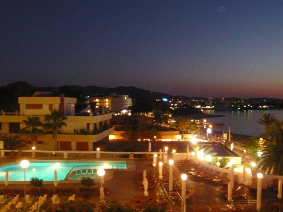 Abendimpressionen Hotel Osiris
