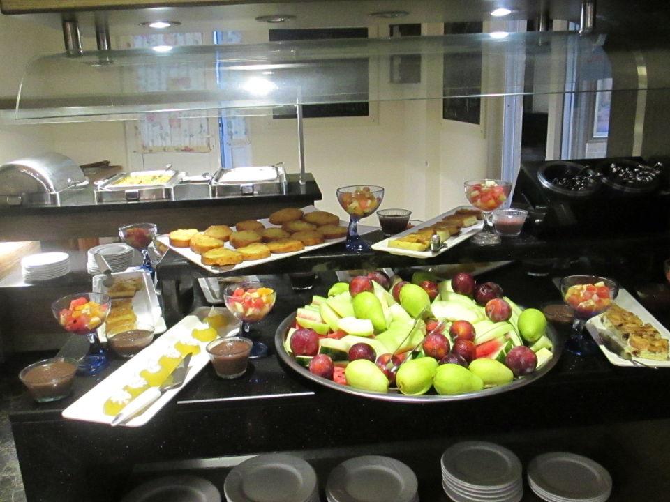Nachtisch Obst Kuchen Pudding Anik Hotel Alanya