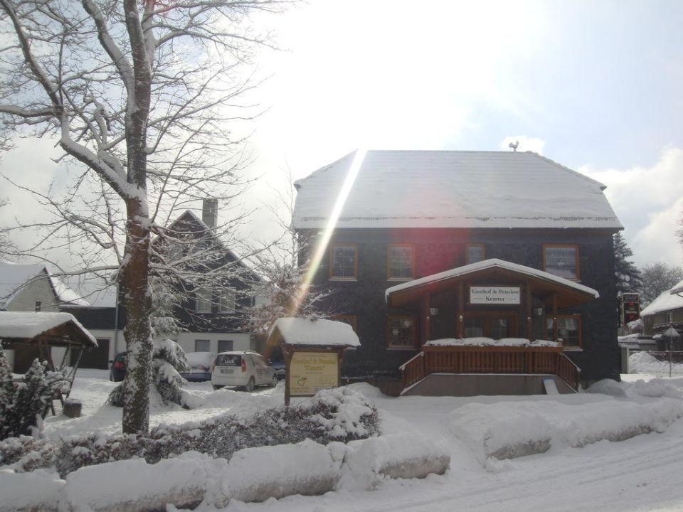 Landgasthof im Winter Landgasthof Kemter