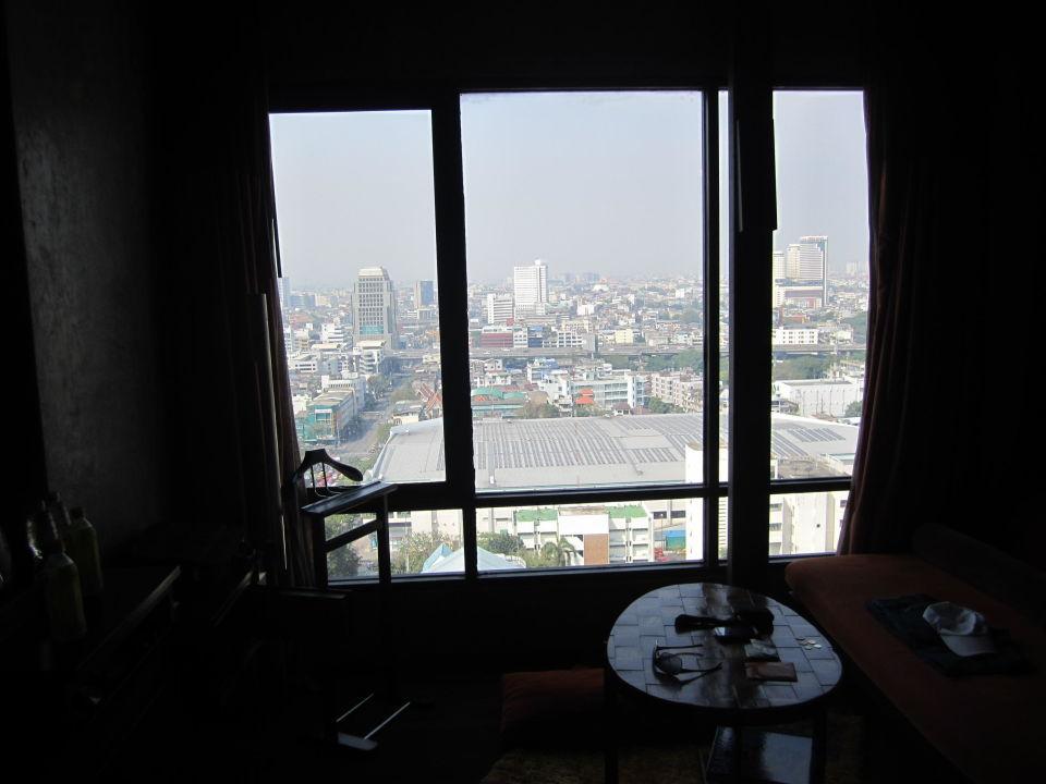 Ausblick vom Zimmer 23. Stock Hotel Siam @ Siam Design Hotel & Spa