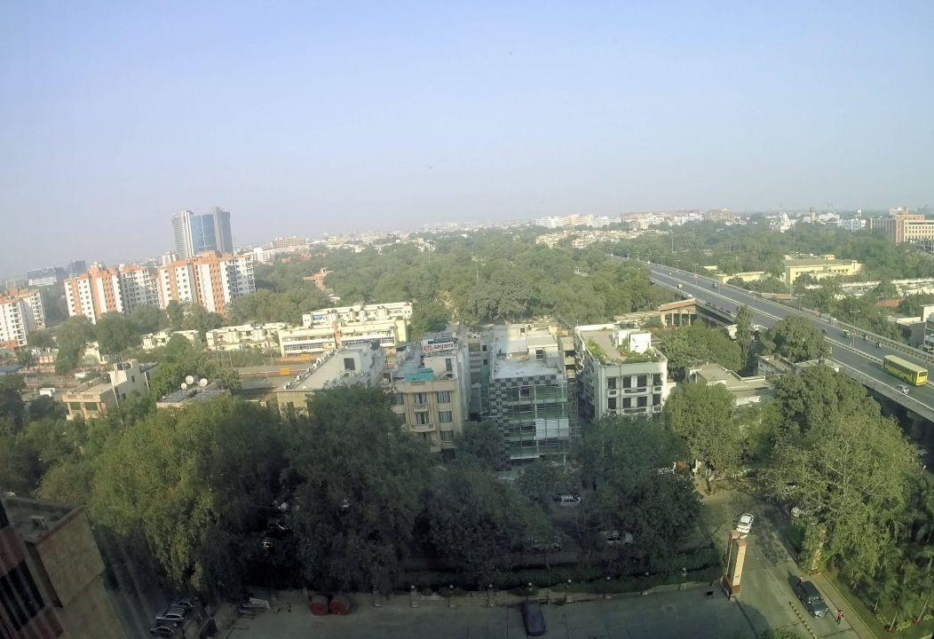 Blick aus dem Fenster Hotel The LaLiT New Delhi