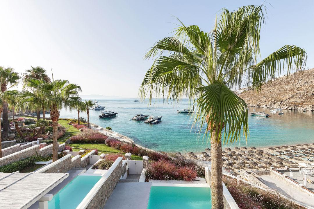 Außenansicht Mykonos Blu, Grecotel Exclusive Resort