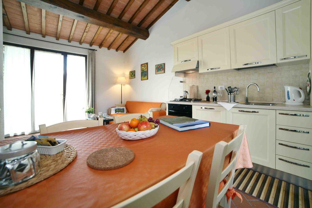 Dante apartment - kitchen La Compagnia del Chianti
