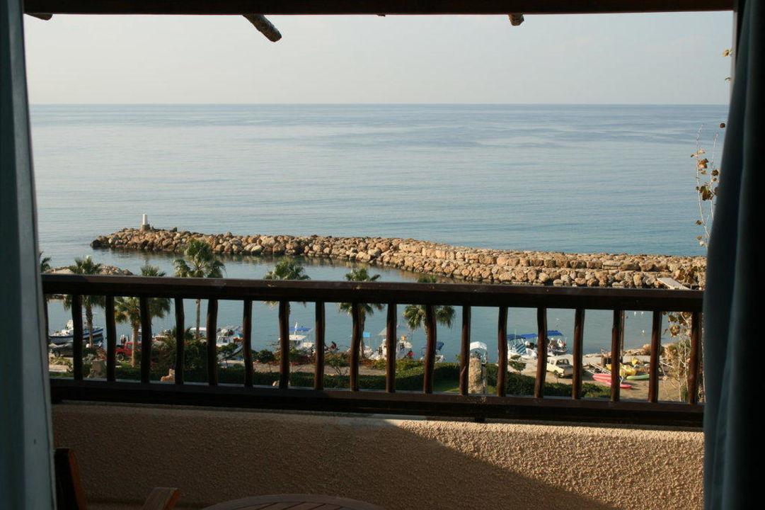 Blick aus Zimmer 3710 Hotel Coral Beach Resort