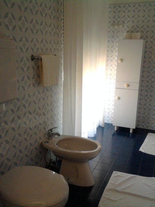 Badezimmer Hotel Diana