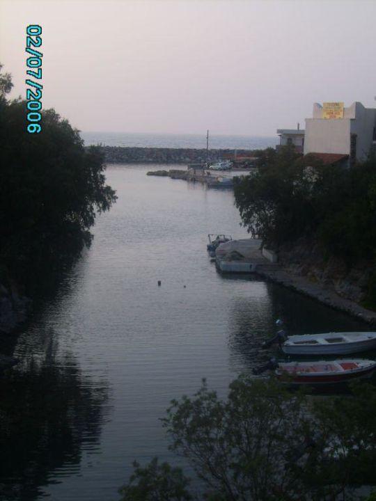 Blick auf die Bucht SENTIDO Vasia Resort & Spa