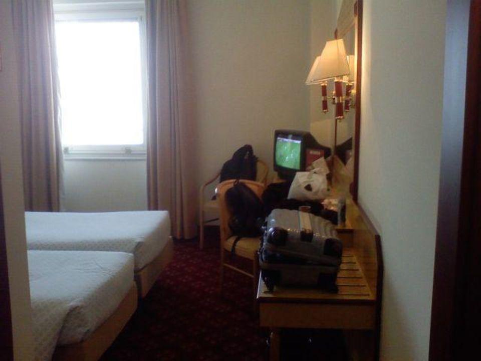 Teil vom Zimmer Hotel Alpi