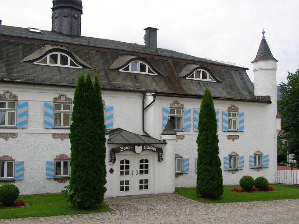 Bonnschlössl Straßenseite Hotel Bonnschlössl