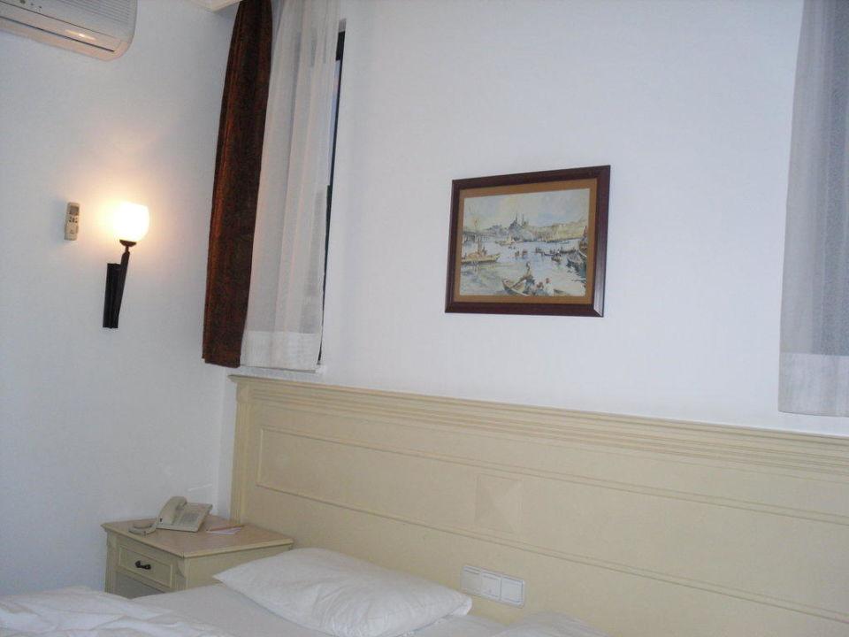 Unser gemütliches schönes Zimmer Hotel Grand Seker