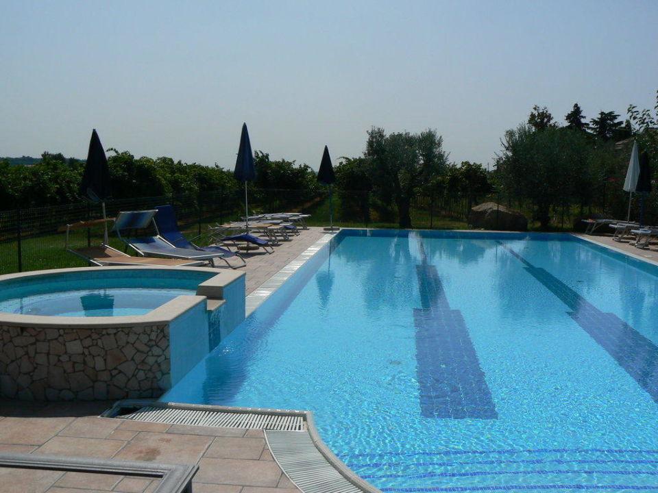 Großer Pool sehr großer pool costadoro agriturismo costadoro bardolino