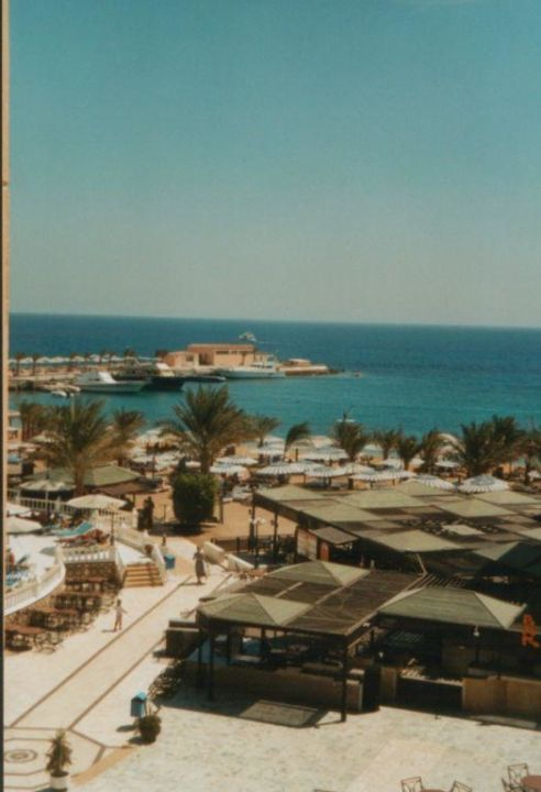 Blick vom Balkon Beach Albatros Resort