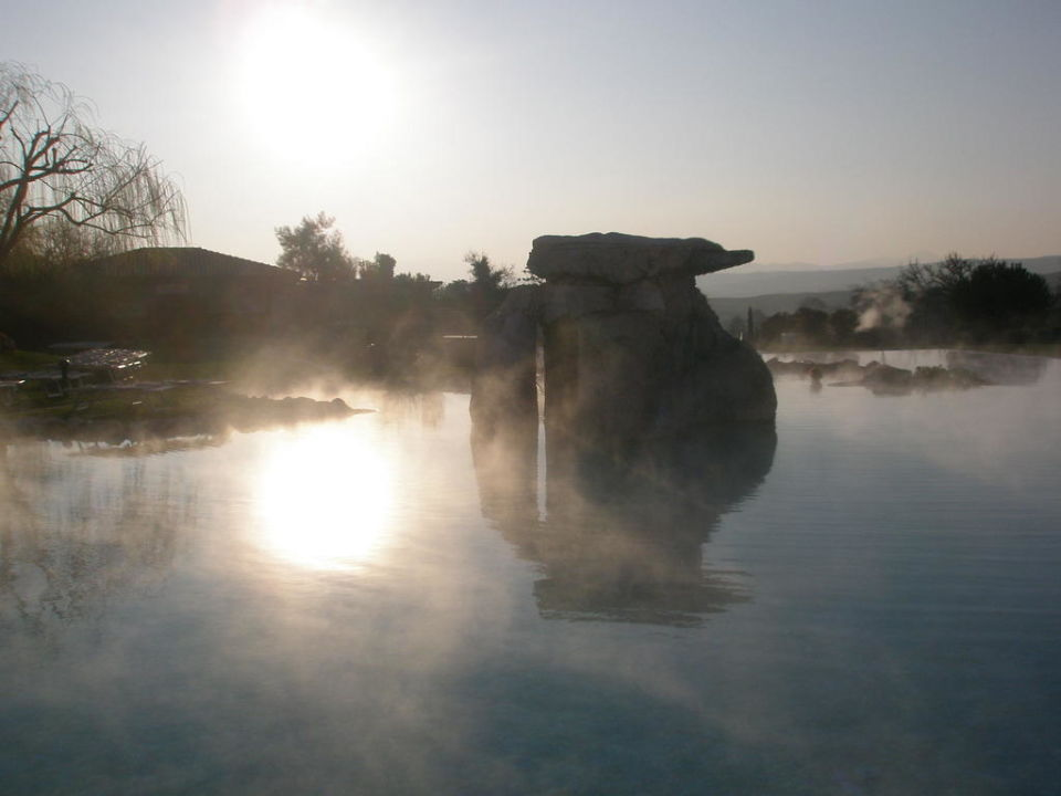 Val dorcia bagno vignoni toscana adler thermae spa resort luxury