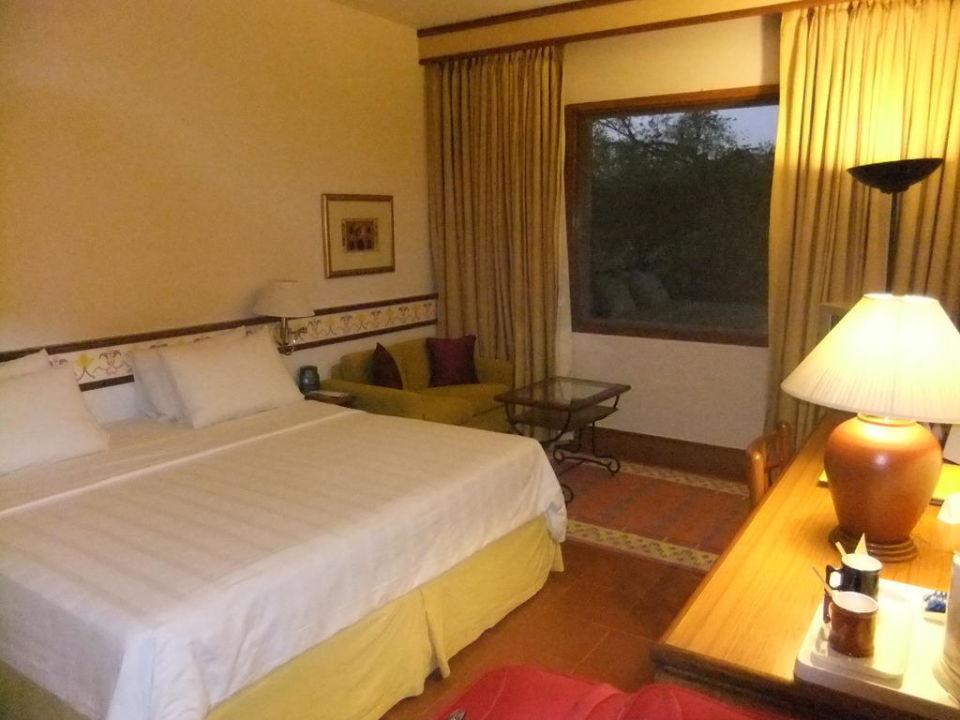 Camera sul giardino Trident Agra