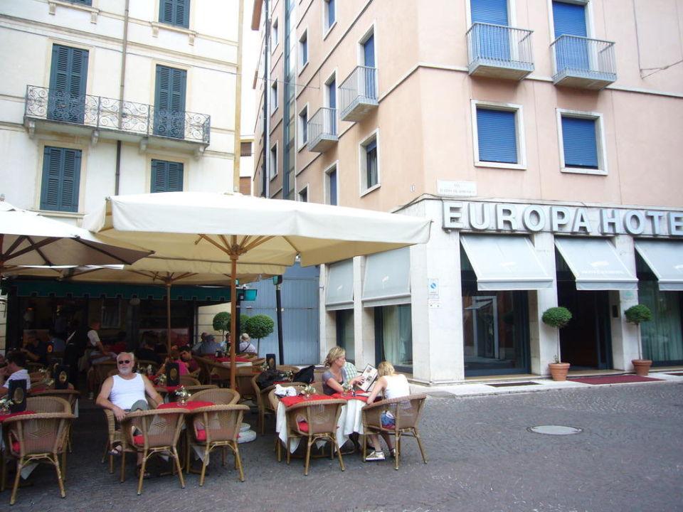 Badezimmer Hotel Europa Verona