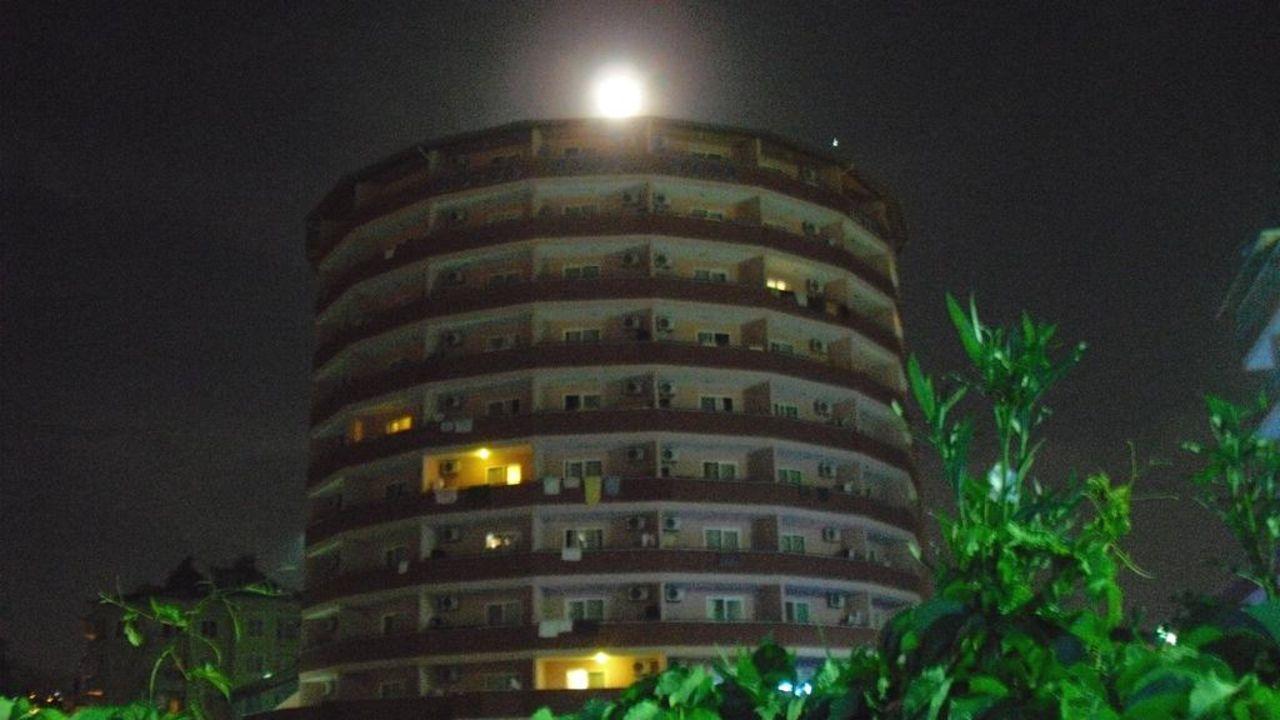 Blue Star mit türkischem Mond Hotel Blue Star