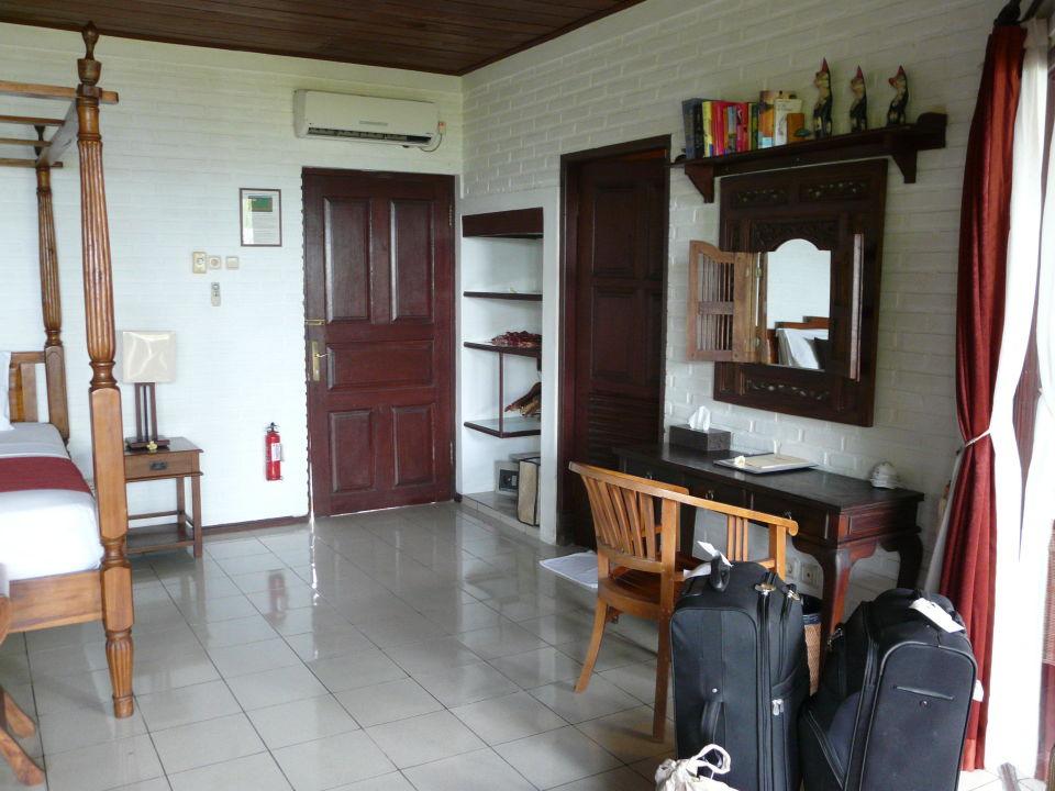 Eingang Hotel Tauch Terminal Resort Tulamben