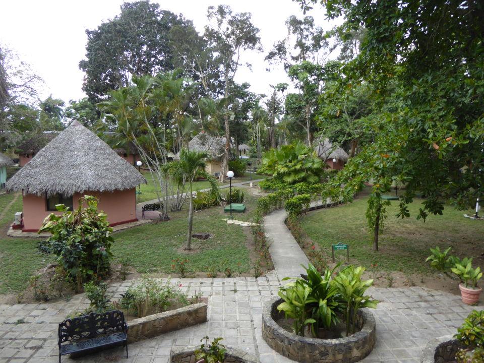 Gartenanlage Hotel Los Caneyes