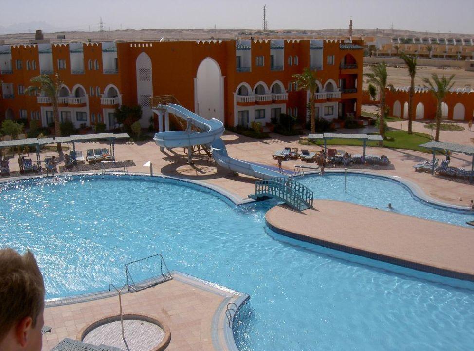 Übersicht Pool SUNRISE Garden Beach Resort