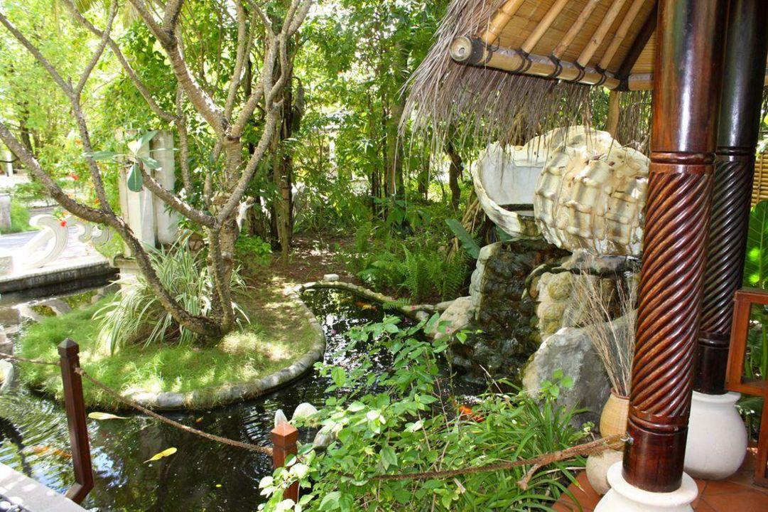Der Eingang zum Spa Sun Island Resort & Spa
