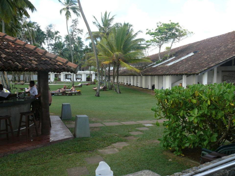 Sonnenuntergang am Pool AVANI Bentota Resort & Spa