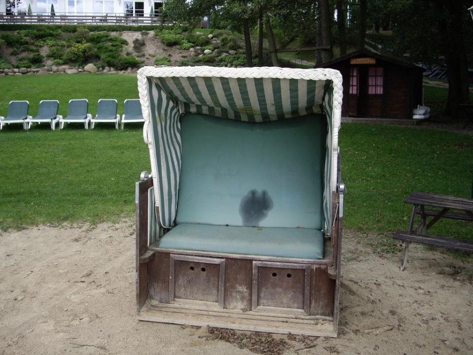 Strandkorb Familotel Borchard's Rookhus am See