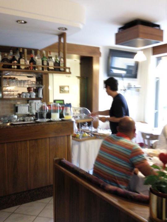 Der Frühstücksraum Hotel Casa Nataly