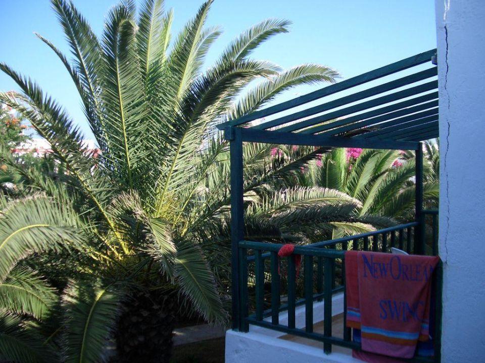 Blick von Balkon Hotel Stella Village