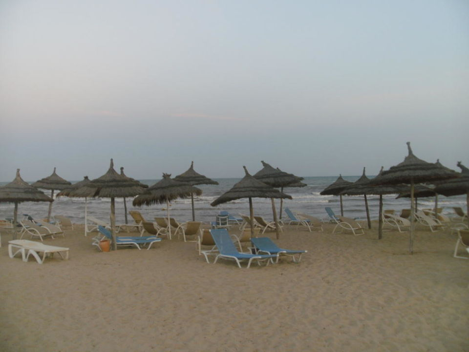 Strand am Abend Hotel Seabel Aladin Djerba