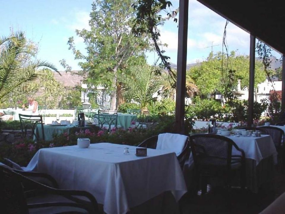 Terrasse Hotel Jardin Tecina