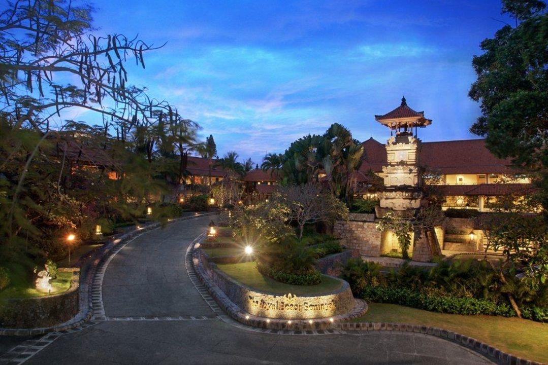 Main Entrance The Royal Beach Seminyak Bali - MGallery Collection