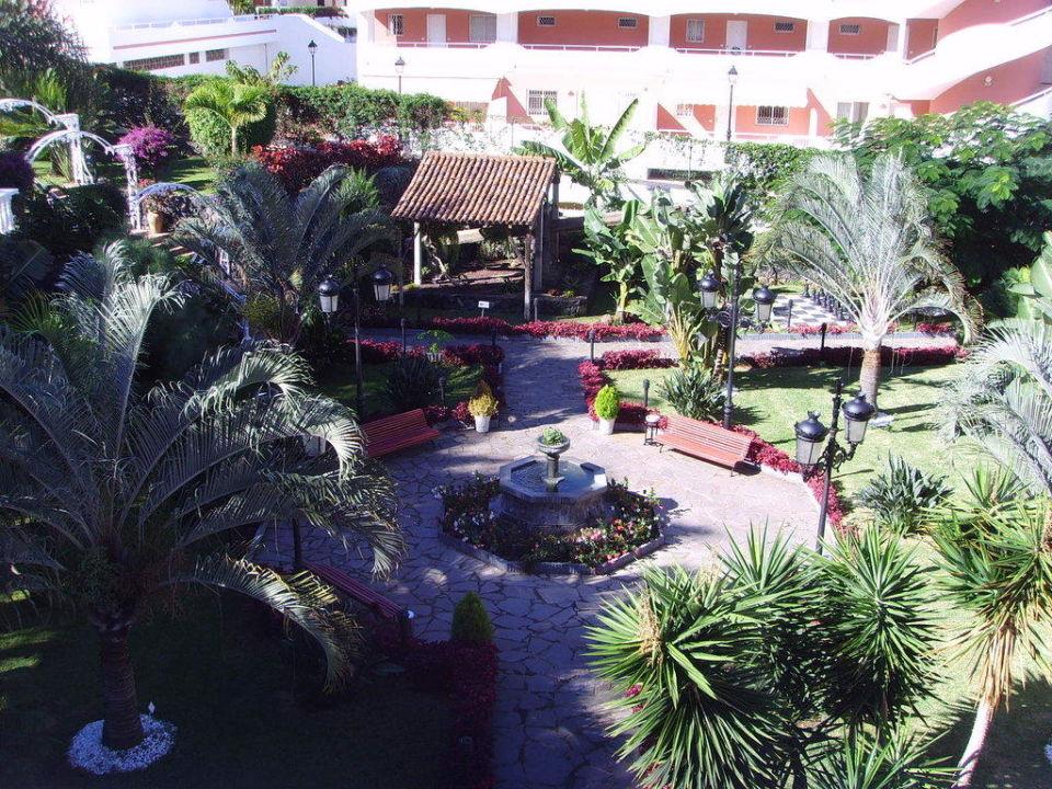 Aufnahme vom Balkon 2. Stock Hotel Riu Garoe