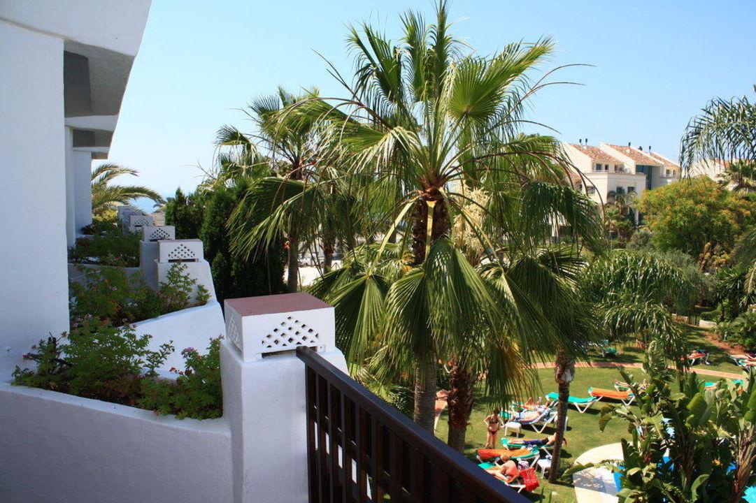 Zimmerausblick vom Balkon Iberostar Marbella Coral Beach