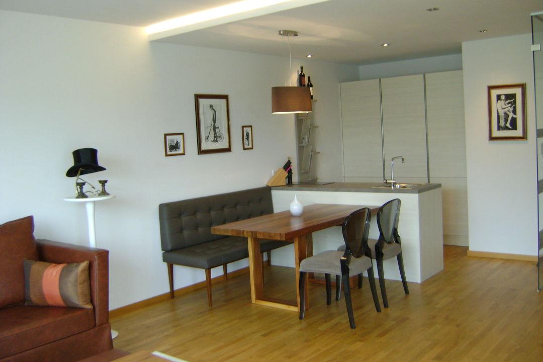 Küche & Sitzecke\