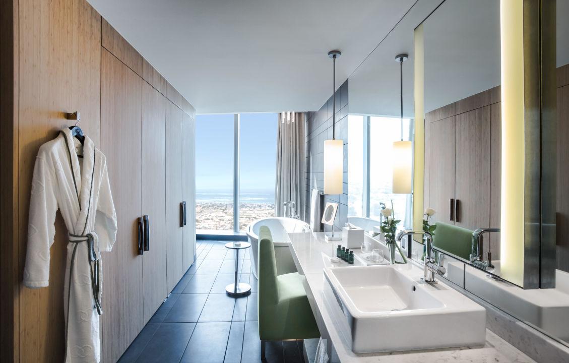 Prestige Suite Bathroom Sofitel Hotel Dubai Downtown